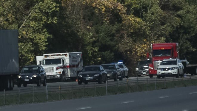 A serious crash delayed traffic on I-71 southbound in northern Morrow County for hours Friday.
