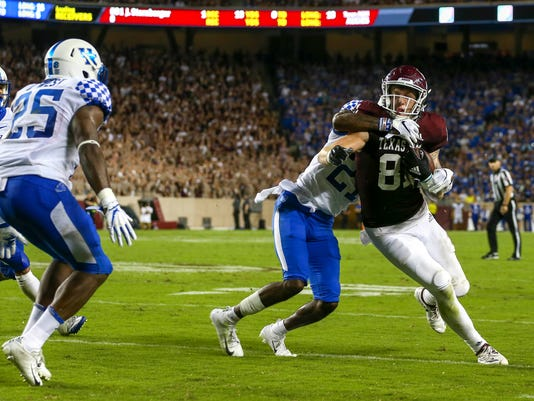 NCAA Football: Kentucky at Texas A&M