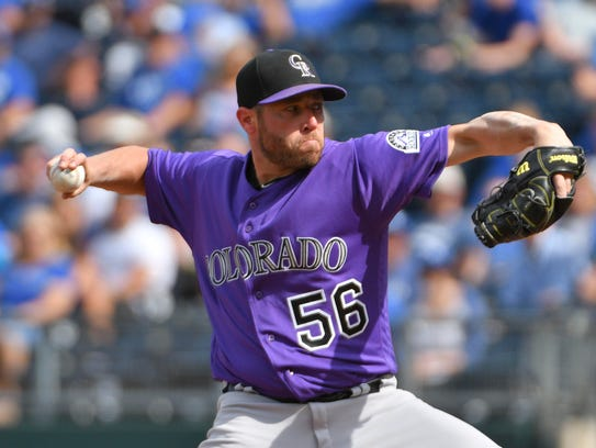 Greg Holland was 3-2 with a 3.61 ERA and 41 saves in
