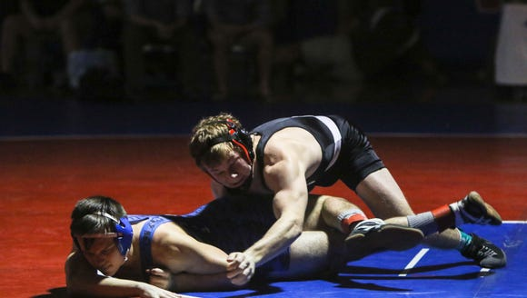 Results from the Great Smoky Mountain wrestling tournament