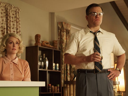 Matt Damon and Julianne Moore star in 'Suburbicon.'
