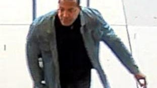This man is believed to have stolen a credit card from the Gahanna YMCA on March 14, 2019 and then used it to buy a computer at Easton Town Center. Anyone with information should call Central Ohio Crime Stoppers at 614-461-TIPS.