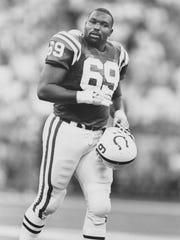 Colts Randy Dixon, 1989 AP file photo