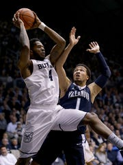 Tyler Wideman and Butler beat Villanova twice last