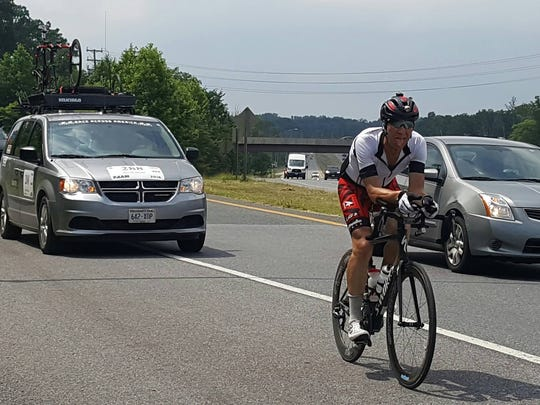 Dave Haase will cycle the 3,000-mile Race Across America for the seventh time this June.