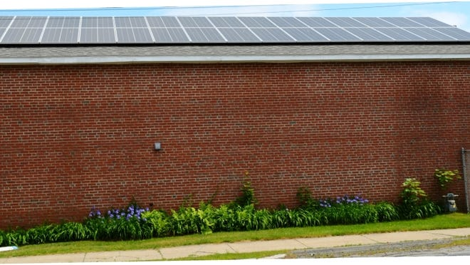 The Wakefield Department of Public Works, in conjunction with Wakefield Municipal Gas and Light Department and BlueSel Home Solar, recently installed 60 solar panels on the DPW Water Department building at 108 Broadway.
