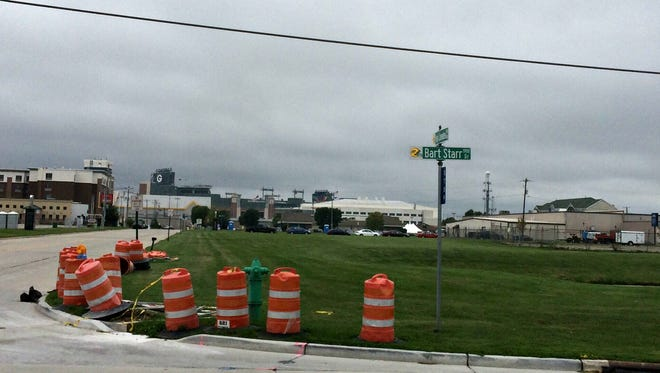The owners of the Oval Office, a Green Bay strip club have acquired 11 acres of vacant property located on both sides of Tony Canadeo Run between Reggie White Way and Bart Starr Drive in Green Bay.