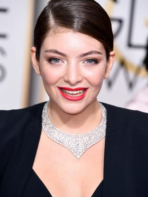 BEVERLY HILLS, CA - JANUARY 11: Singer Lorde attends the 72nd Annual Golden Globe Awards at The Beverly Hilton Hotel on January 11, 2015 in Beverly Hills, California. (Photo by Steve Granitz/WireImage) ORG XMIT: 531169805 ORIG FILE ID: 461353080