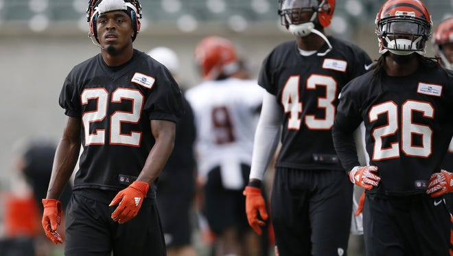 Cincinnati Bengals cornerback William Jackson is anxious to get back on the field after missing his rookie year due to injury.