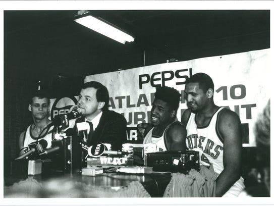 From left: Rick Dadika, Bob Wenzel, Craig Carter and