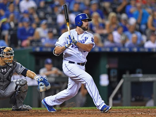 Mike Moustakas.