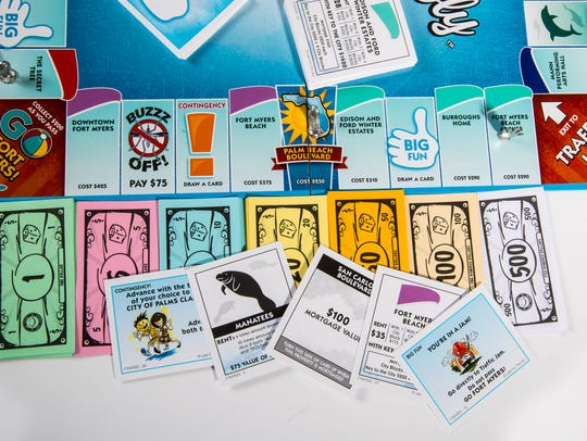 Fort Myers-Opoly — a board game inspired by Monopoly