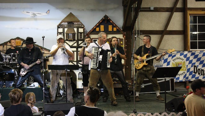 Germany's Donaumusikanten will perform at the Mount Angel Oktoberfest Kick Off Party on Sept. 12.
