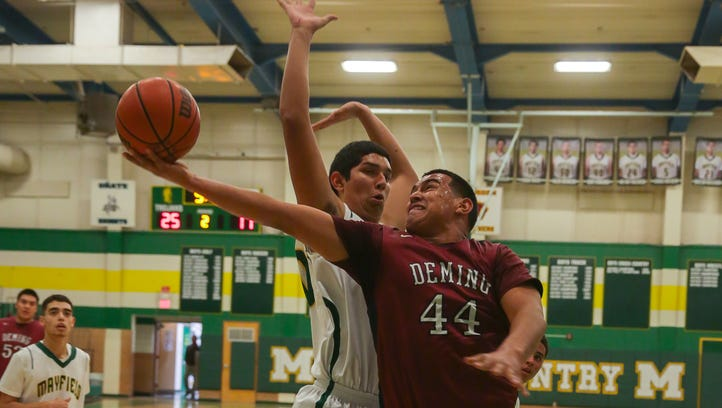Mayfield mauls Wildcats, 74-57