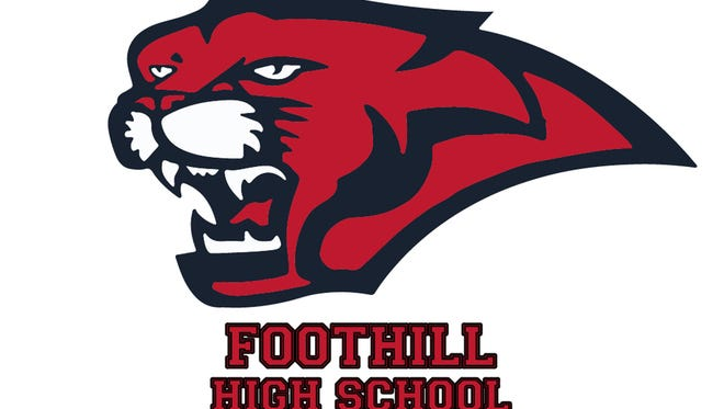 Foothill High School Cougars logo.