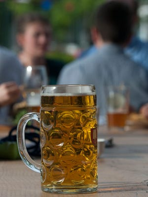 Beer is the star of the show at the new outdoor space at Keg & Kitchen in Westmont