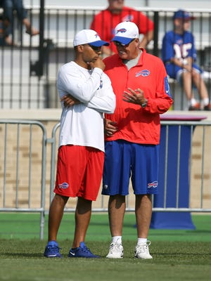Bills GM Doug Whaley and coach Rex Ryan may have had plenty of conversations in the past two years but it seems rarely did they see eye to eye on personnel decisions.
