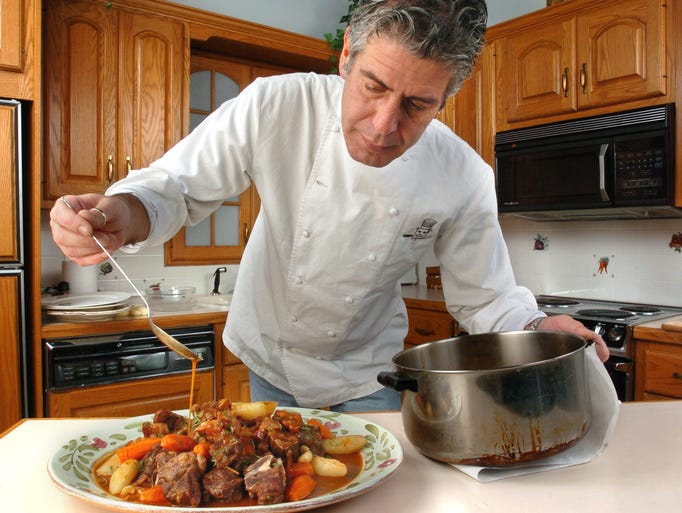 10/21/2004: In The Record Kitchen with Chef Anthony
