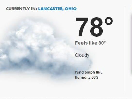 LAN weather