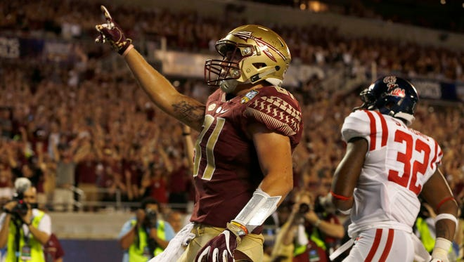 Redshirt junior tight end Ryan Izzo hopes to bring a spark to Florida State's passing game in 2017.