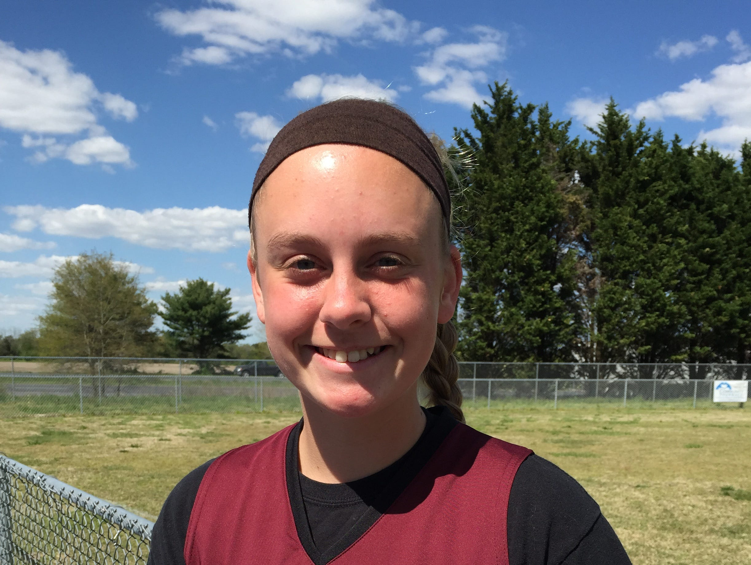 Salisbury Christian's Hailey Farlow earned two win in the pitcher's circle for the Jaguars. She also threw a no-hitter.