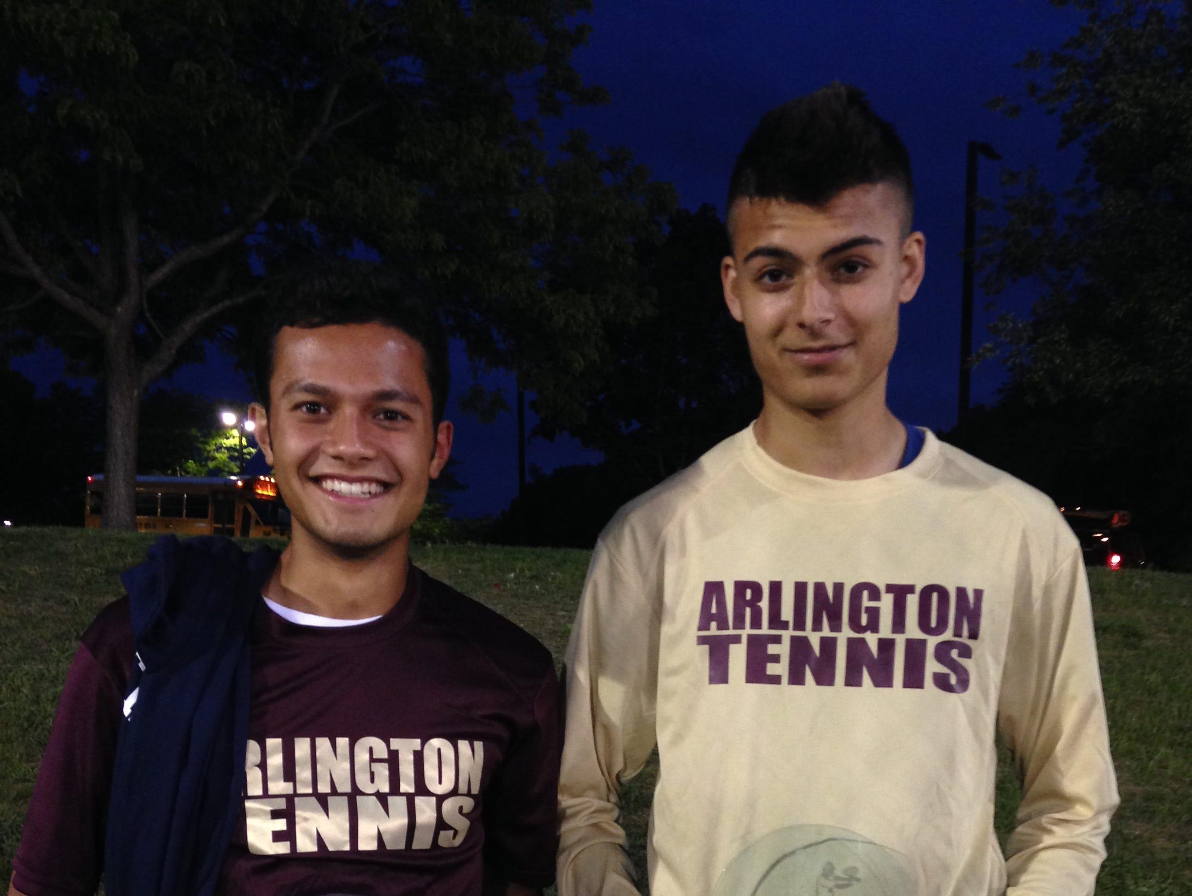 Arlington's Mark Cukaj and Sean Gorwara qualified for the state tournament.