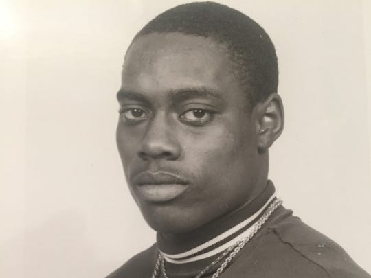 Toms River South defensive back Otis Kearney, shown in a 1985 All-Shore photo.