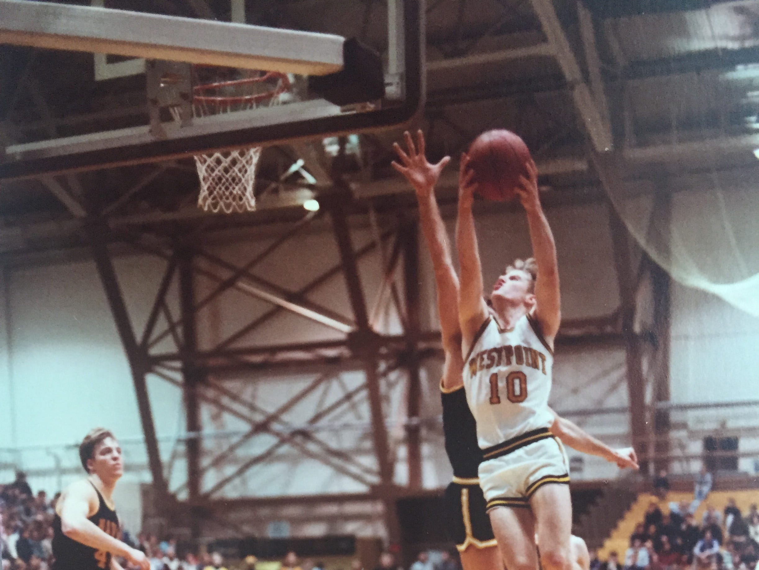 Joe McGuinness, who will be inducted into the Rockland County Sports Hall of Fame on Apr. 16, is pictured during his playing days at West Point.