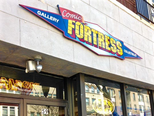 Storefront of Comic Fortress.