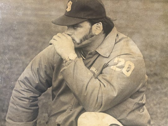 Long-time Shore Regional baseball coach Fred Kampf was a dominant pitcher for the Blue Devils in the mid-1960s.