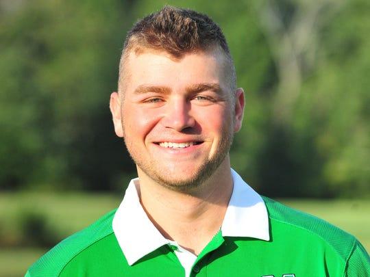 Marshall redshirt freshman golfer Jake Appleby, younger brother of Purdue starting quarterback Austin Appleby