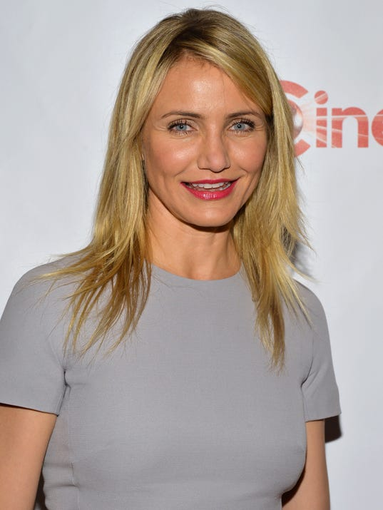 Cameron Diaz at CinemaCon in Cameron Diaz