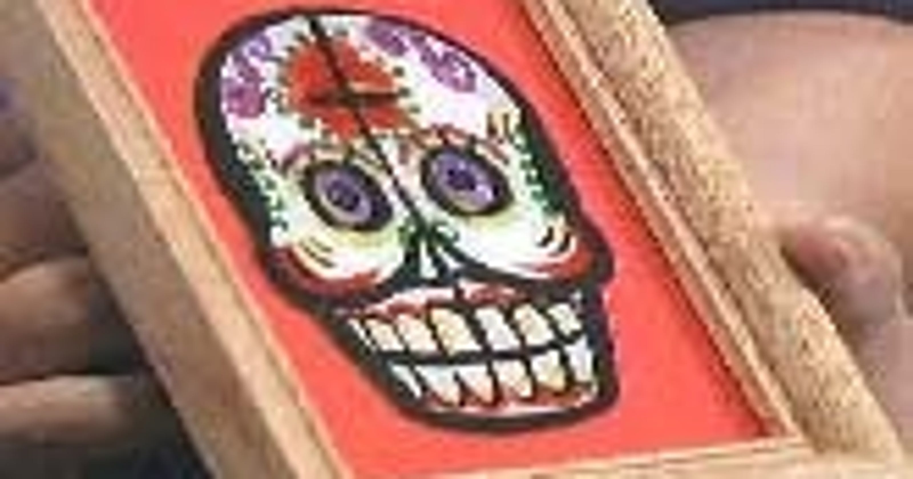Day Of The Dead Crafts Cheery Calaca Frames