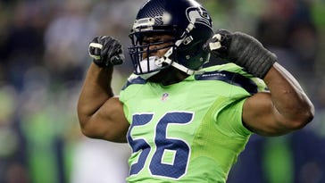 Coming off best season, Seahawks' Avril to face former team