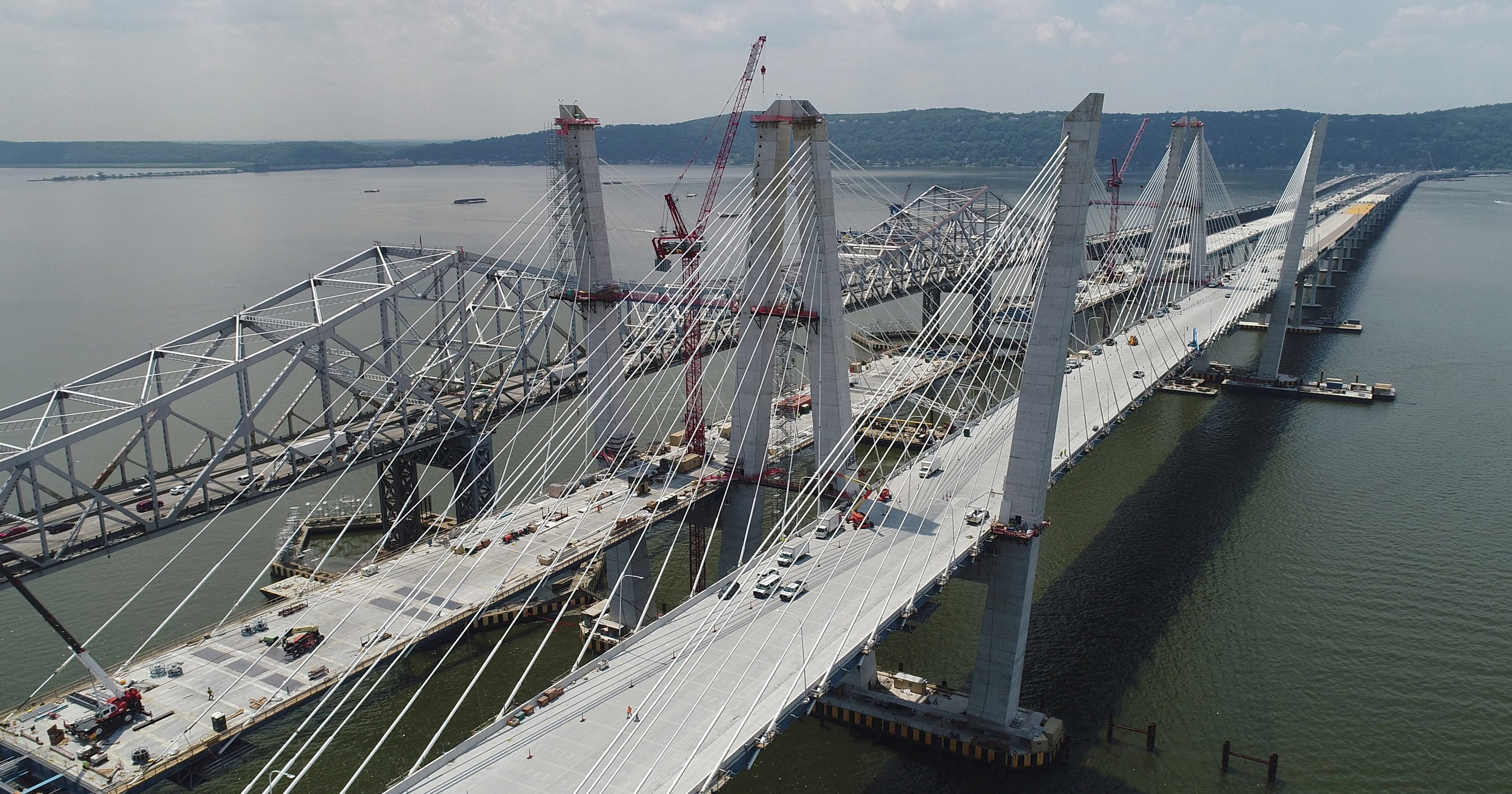 Drone video: See new Tappan Zee from the air