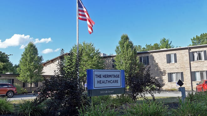 "The Hermitage Healthcare, 383 Mill St., Worcester, is in danger of being dropped from MassHealth over failures during the COVID-19 pandemic and ""a record of poor performance."""