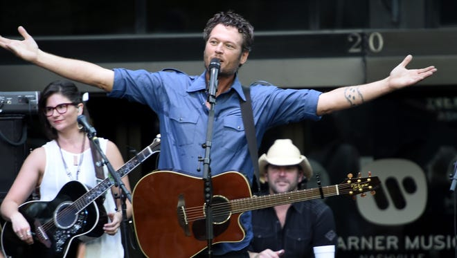 Blake Shelton will be featured in an exhibit at The Country Music Hall of Fame and Museum that opens May 27.