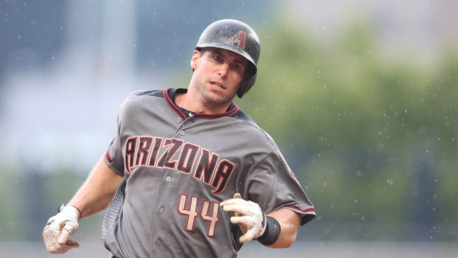 Arizona Diamondbacks first baseman Paul Goldschmidt (44) is not getting love in MLB All-Star voting returns.