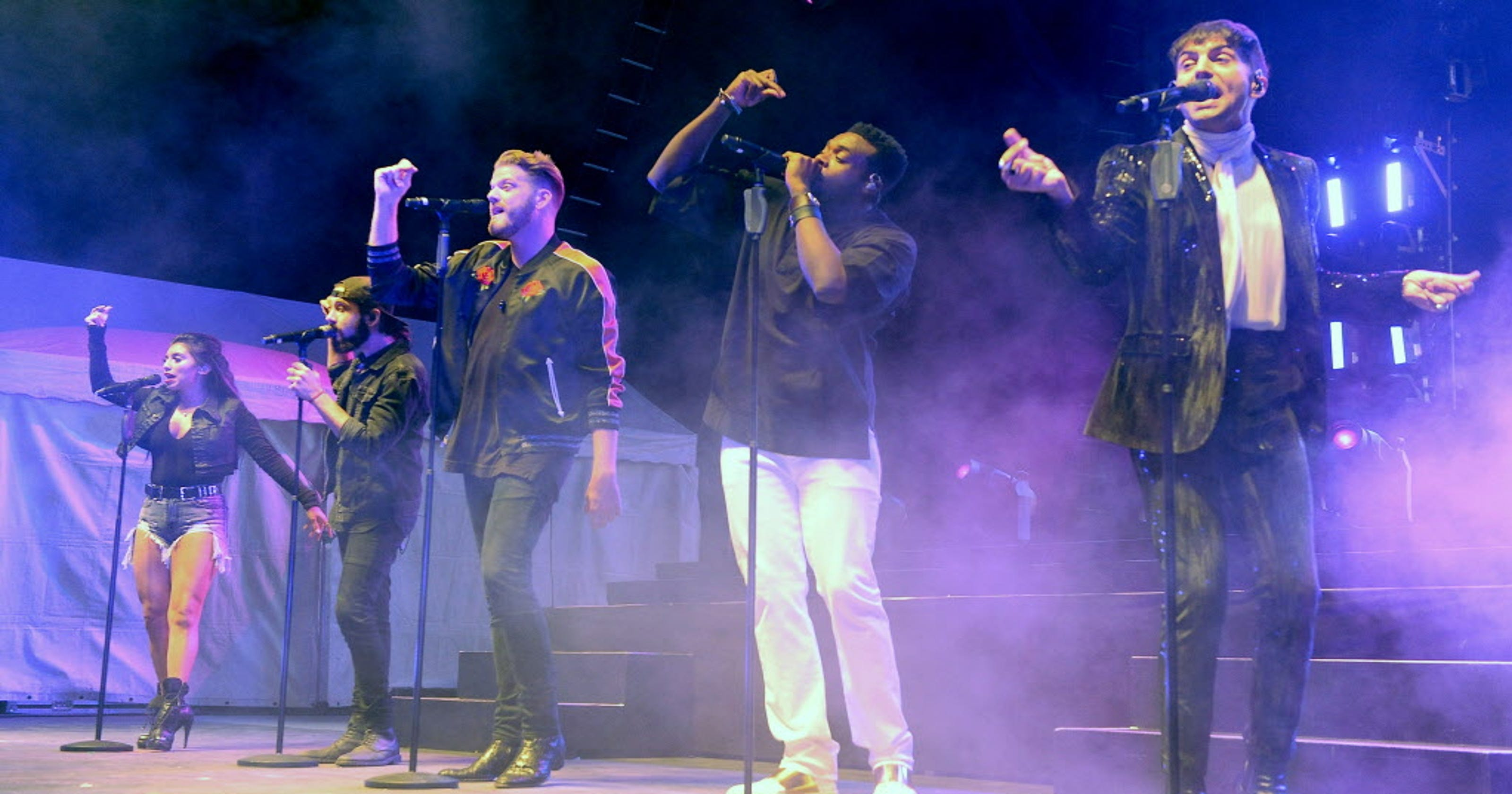 Pentatonix salutes departing member Avi Kaplan at sold-out Wisconsin