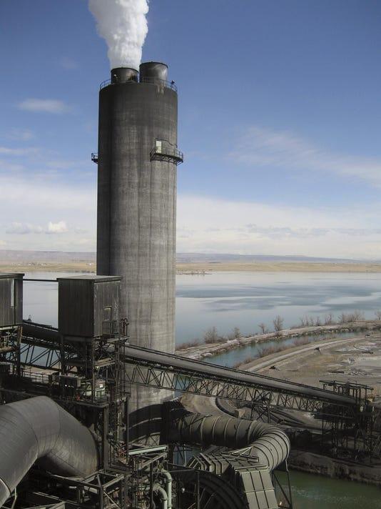 Power plant carbon emissions