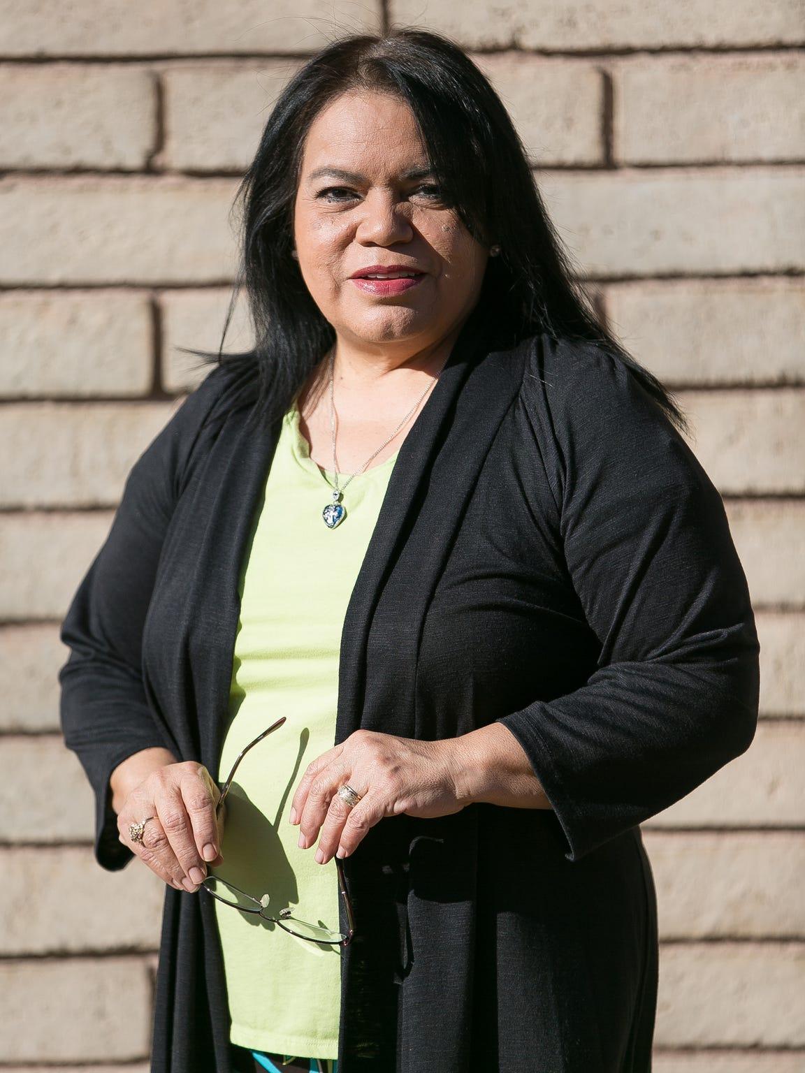 Gloria Gonzales, La Piñon advocate