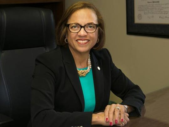 Pamela Gunter-Smith, president of York College of Pennsylvania.