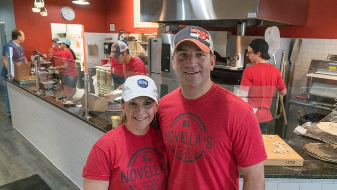 Karissa and Brandon Davis have worked in the restaurant business for years. This is their first time as owners.