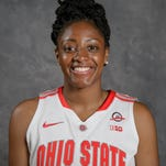 Kelsey Mitchell tied a single-game school record with 42 points on Saturday.