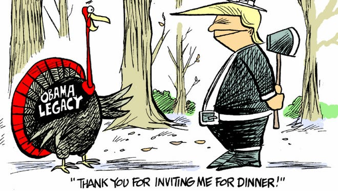 One bird who won't be pardoned this Thanksgiving