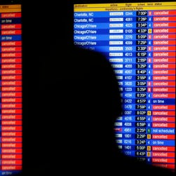 Wednesday was the year's worst day for air travel; will today be better?