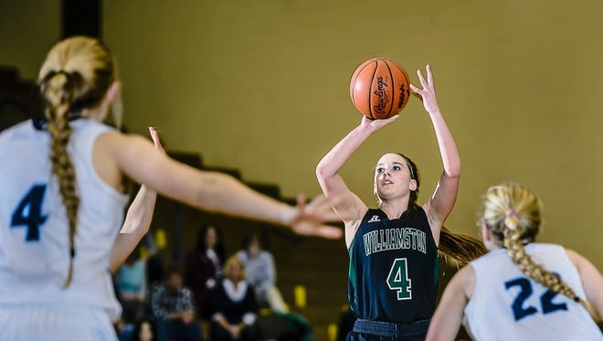 Williamston star guard Maddie Watters verbally committed to Western Michigan over the weekend.