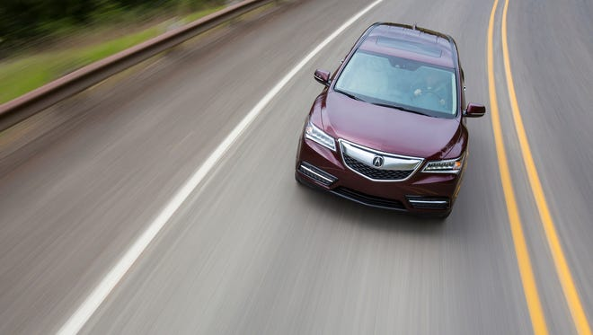 2014 Acura MDX can steer itself