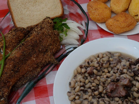 Catfish and black-eyed peas are just some of the foods