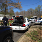 Police are searching for a suspect, who is believed to be armed, near a park in north Charlotte.